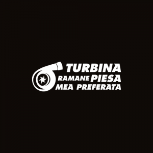 Sticker Turbina Monocrom