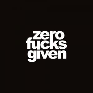 Sticker Zero Monocrom