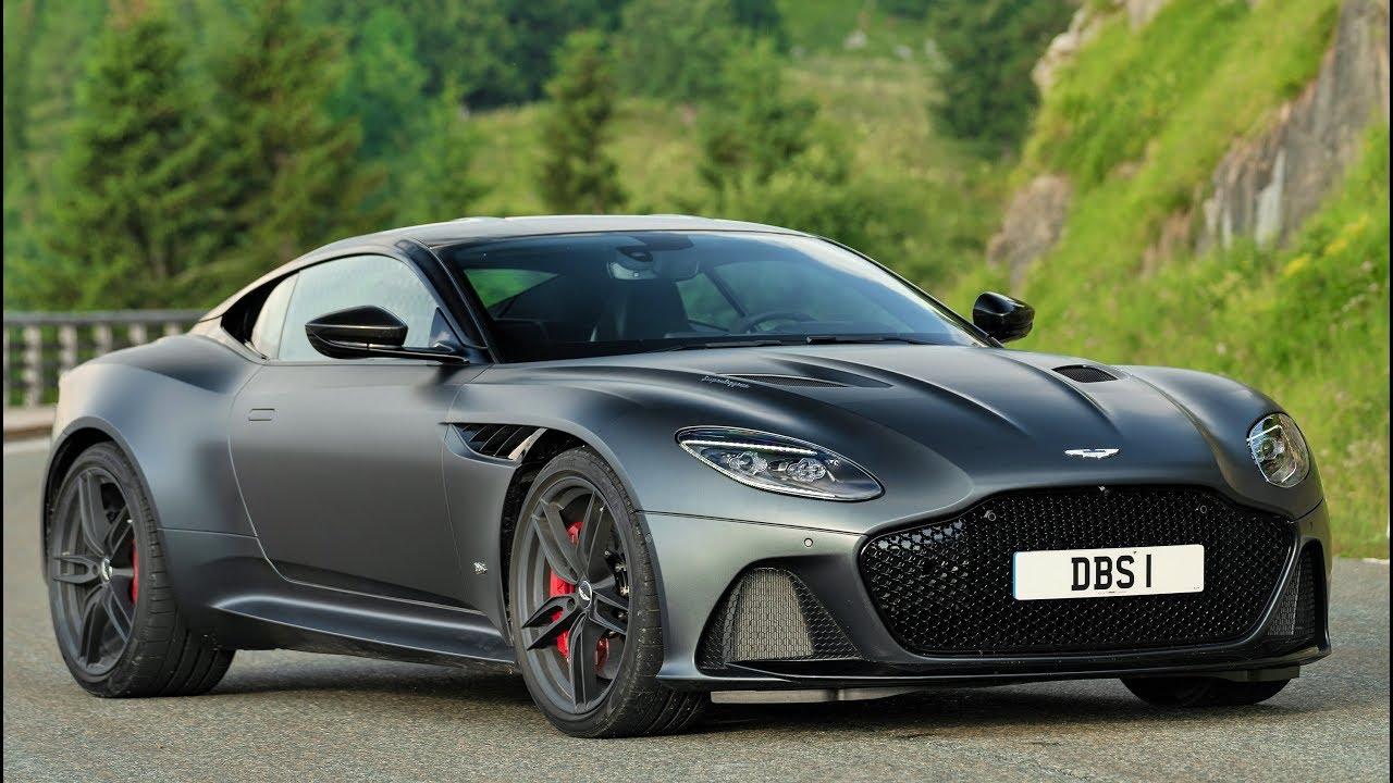 2019 Grey Aston Martin DBS Superleggera