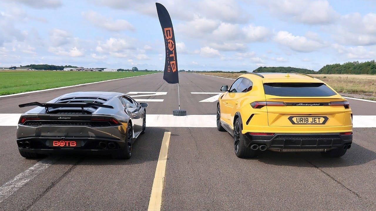 Lamborghini Urus vs Huracan