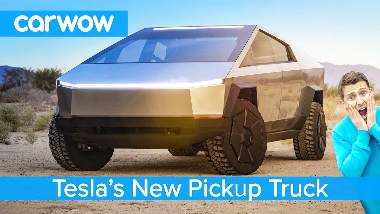 All-new Tesla Pickup Truck 2021