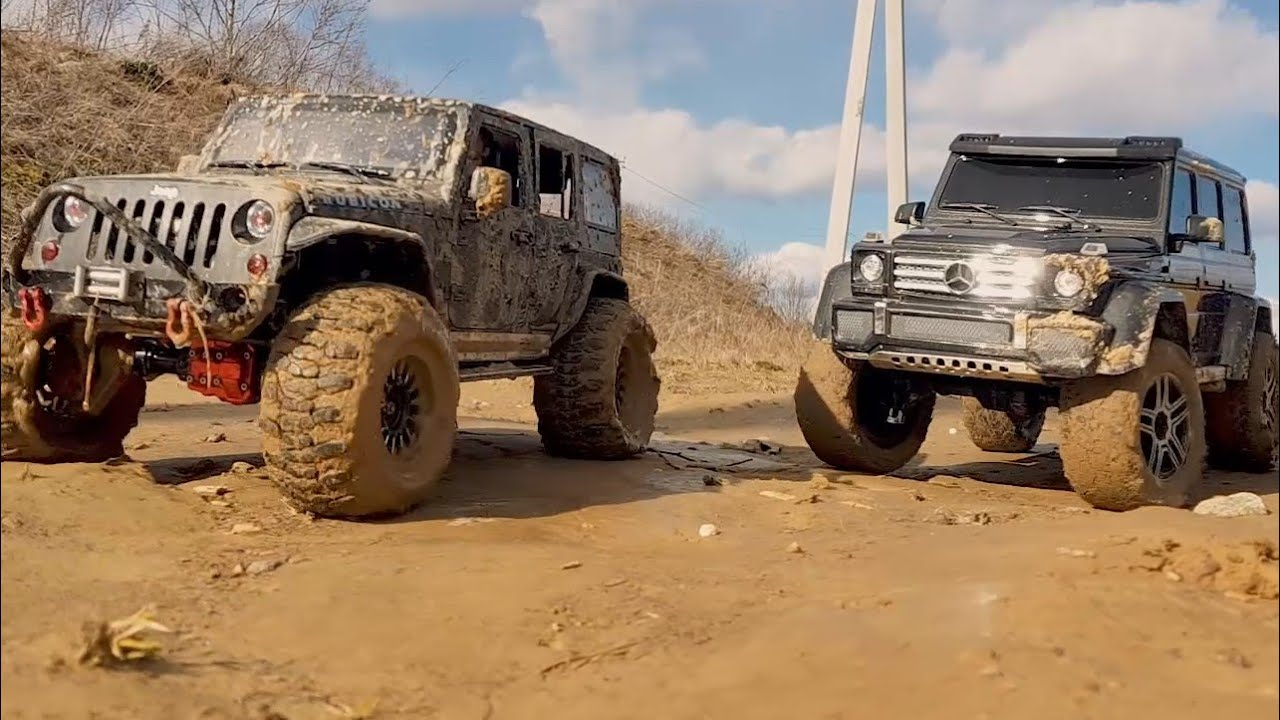 RC Cars Crawlers 4×4 Heavy Off-Road Sand and Mud